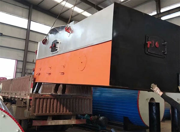 YLL-MA系列链条炉排-立式燃煤燃兰炭导热油炉